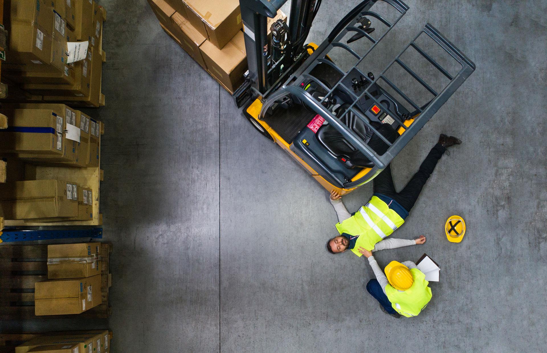 Personen-Notsignal-Anlagen • Alleinarbeit • Personennotsignalsystem oscom Deutschland Stapler • Mitarbeitersicherung • Jobs in Bielefeld